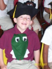 Joshua graduating Kindergarden
