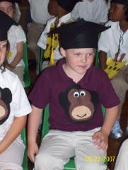 Matthew Graduating
